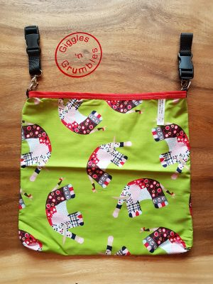 HotchPotchPouch elephant stars